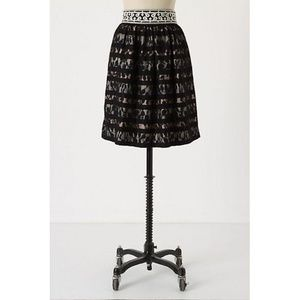 Anthropologie Floreat Charente Skirt Lace